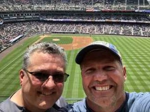 Scott attended Colorado Rockies vs. San Francisco Giants - MLB on Jul 17th 2019 via VetTix