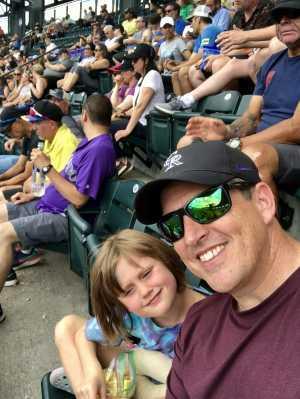 Chad attended Colorado Rockies vs. San Francisco Giants - MLB on Jul 17th 2019 via VetTix