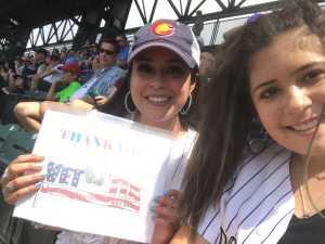 Ric attended Colorado Rockies vs. San Francisco Giants - MLB on Jul 17th 2019 via VetTix