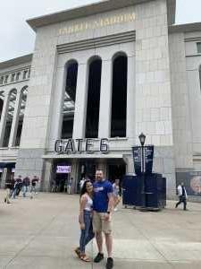 Nicholas attended New York Yankees vs. Tampa Bay Rays - MLB on Jun 19th 2019 via VetTix