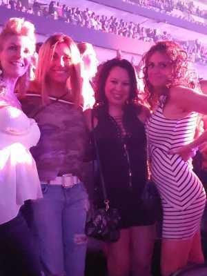 Jessica attended Jennifer Lopez - Wednesday Night on Jun 19th 2019 via VetTix