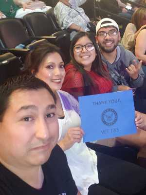donnie attended Jennifer Lopez - Wednesday Night on Jun 19th 2019 via VetTix