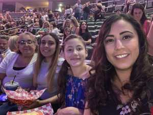 Crystal attended Jennifer Lopez - Wednesday Night on Jun 19th 2019 via VetTix