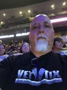 James attended Jennifer Lopez - Wednesday Night on Jun 19th 2019 via VetTix