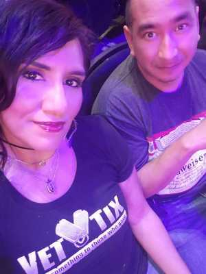 Joseph attended Jennifer Lopez - Wednesday Night on Jun 19th 2019 via VetTix