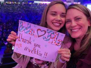 Sheryl attended Jennifer Lopez - Wednesday Night on Jun 19th 2019 via VetTix