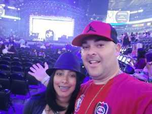 Victor attended Jennifer Lopez - Wednesday Night on Jun 19th 2019 via VetTix