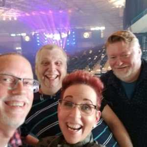 Ed attended Jeff Lynne's Elo With Special Guest Dhani Harrison - Pop on Jun 28th 2019 via VetTix