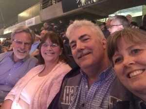 Harvey attended Jeff Lynne's Elo With Special Guest Dhani Harrison - Pop on Jun 28th 2019 via VetTix