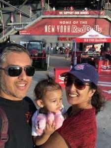 Avi attended New York Red Bulls vs. Colorado Rapids - MLS on Aug 31st 2019 via VetTix