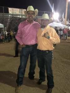 SGTPATRICH  attended World's Oldest Continuous Rodeo - Friday Night Only Performance on Aug 16th 2019 via VetTix