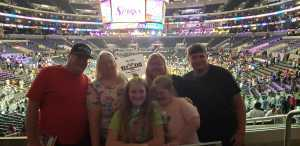 Scott attended Los Angeles Sparks vs. Las Vegas Aces - WNBA on Jun 27th 2019 via VetTix
