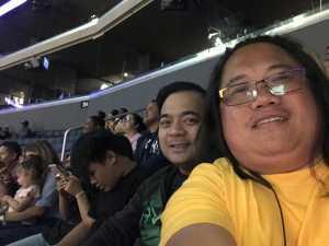 Manuel attended Los Angeles Sparks vs. Las Vegas Aces - WNBA on Jun 27th 2019 via VetTix
