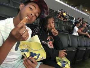 Darrell attended Los Angeles Sparks vs. Las Vegas Aces - WNBA on Jun 27th 2019 via VetTix