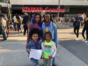 Ebony attended Los Angeles Sparks vs. Las Vegas Aces - WNBA on Jun 27th 2019 via VetTix