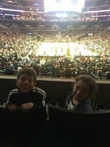 Erika attended Los Angeles Sparks vs. Las Vegas Aces - WNBA on Jun 27th 2019 via VetTix