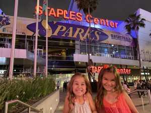 Steven attended Los Angeles Sparks vs. Las Vegas Aces - WNBA on Jun 27th 2019 via VetTix