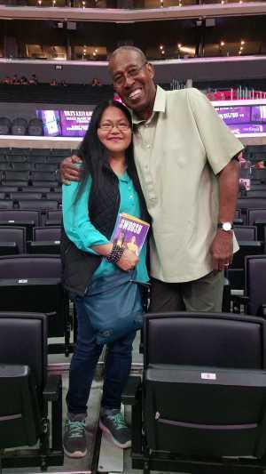James attended Los Angeles Sparks vs. Las Vegas Aces - WNBA on Jun 27th 2019 via VetTix