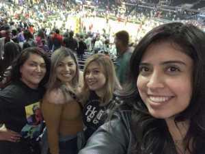 Ana attended Los Angeles Sparks vs. Las Vegas Aces - WNBA on Jun 27th 2019 via VetTix