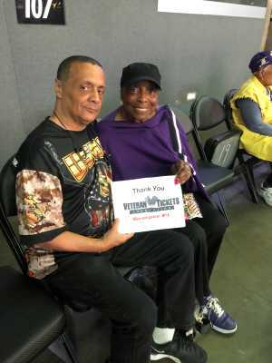 Eddie attended Los Angeles Sparks vs. Las Vegas Aces - WNBA on Jun 27th 2019 via VetTix