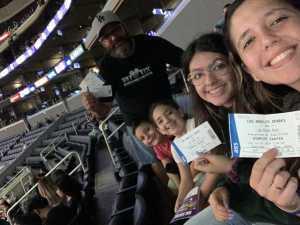 Robert  attended Los Angeles Sparks vs. Las Vegas Aces - WNBA on Jun 27th 2019 via VetTix
