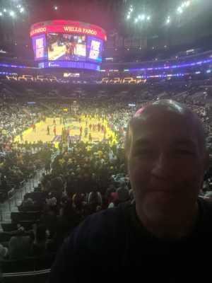 David attended Los Angeles Sparks vs. Las Vegas Aces - WNBA on Jun 27th 2019 via VetTix