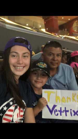 Julio attended Los Angeles Sparks vs. Seattle Storm - WNBA on Aug 4th 2019 via VetTix