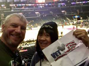 Hai-Ping attended Los Angeles Sparks vs. Seattle Storm - WNBA on Aug 4th 2019 via VetTix