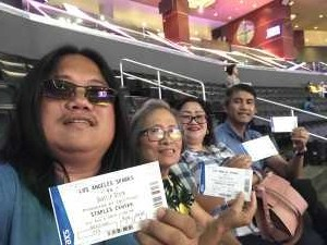 Manuel attended Los Angeles Sparks vs. Seattle Storm - WNBA on Aug 4th 2019 via VetTix