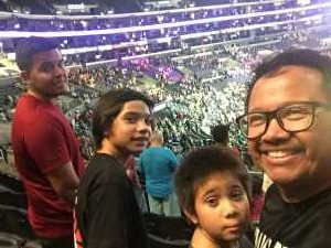 Jonathan attended Los Angeles Sparks vs. Seattle Storm - WNBA on Aug 4th 2019 via VetTix