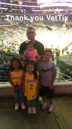Diego attended Los Angeles Sparks vs. Seattle Storm - WNBA on Aug 4th 2019 via VetTix