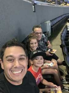 Kristofer attended Los Angeles Sparks vs. Seattle Storm - WNBA on Aug 4th 2019 via VetTix