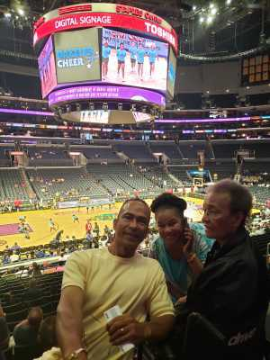 Roshard attended Los Angeles Sparks vs. Seattle Storm - WNBA on Aug 4th 2019 via VetTix