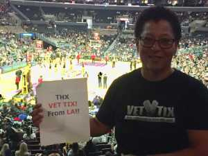 Monique attended Los Angeles Sparks vs. Seattle Storm - WNBA on Aug 4th 2019 via VetTix