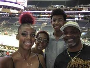 leroy attended Los Angeles Sparks vs. Seattle Storm - WNBA on Aug 4th 2019 via VetTix