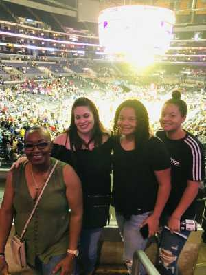 Beverly attended Los Angeles Sparks vs. Seattle Storm - WNBA on Aug 4th 2019 via VetTix