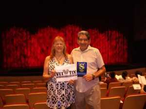 Salvatore attended Shrek - The Musical: Preview Night at the MCC Performing Arts Center on Jul 18th 2019 via VetTix