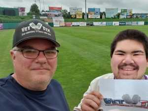 Jason attended Lakewood BlueClaws vs. Hickory Crawdads - MiLB - Vets Night Out on Jul 11th 2019 via VetTix