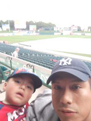 Raul attended Lakewood BlueClaws vs. Hickory Crawdads - MiLB - Vets Night Out on Jul 11th 2019 via VetTix