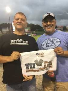 Martin attended Lakewood BlueClaws vs. Hickory Crawdads - MiLB - Vets Night Out on Jul 11th 2019 via VetTix