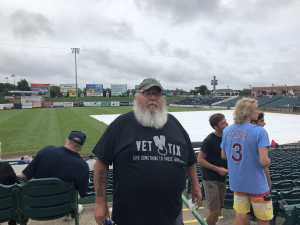 robert gollas attended Lakewood BlueClaws vs. Hickory Crawdads - MiLB - Vets Night Out on Jul 11th 2019 via VetTix