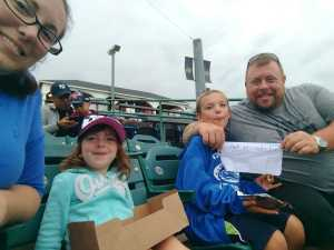 Sean attended Lakewood BlueClaws vs. Hickory Crawdads - MiLB - Vets Night Out on Jul 11th 2019 via VetTix