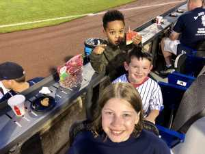 Chops attended Lakewood BlueClaws vs. Hickory Crawdads - MiLB - Vets Night Out on Jul 11th 2019 via VetTix