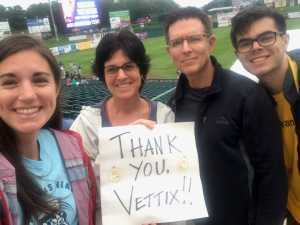 Kenneth attended Lakewood BlueClaws vs. Hickory Crawdads - MiLB - Vets Night Out on Jul 11th 2019 via VetTix