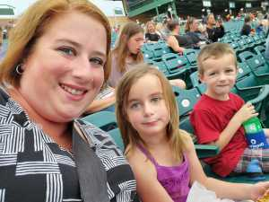 Brandon attended Lakewood BlueClaws vs. Hickory Crawdads - MiLB - Vets Night Out on Jul 11th 2019 via VetTix