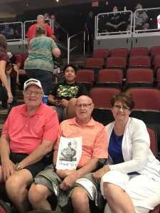 dean attended Arizona Rattlers V. Opponent TBD - IFL - 2019 Conference Championship **played at Gila River Arena on Jun 29th 2019 via VetTix