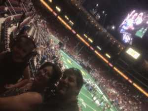 Leonard attended Arizona Rattlers V. Opponent TBD - IFL - 2019 Conference Championship **played at Gila River Arena on Jun 29th 2019 via VetTix