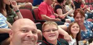 Mary attended Arizona Rattlers V. Opponent TBD - IFL - 2019 Conference Championship **played at Gila River Arena on Jun 29th 2019 via VetTix