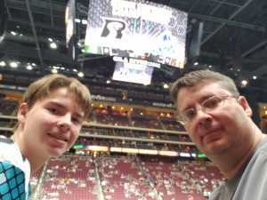 Scott attended Arizona Rattlers V. Opponent TBD - IFL - 2019 Conference Championship **played at Gila River Arena on Jun 29th 2019 via VetTix