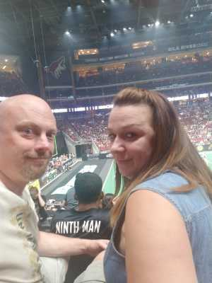 Keith attended Arizona Rattlers V. Opponent TBD - IFL - 2019 Conference Championship **played at Gila River Arena on Jun 29th 2019 via VetTix